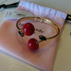 *NWT* ♠️ Kate Spade Cherry 🍒 bracelet